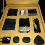 BLACK BERRY PORSCHE GOLD WITH ARABIC KEY BOARD /VIP PIN:BB CHAT:271E22E7