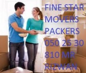 FINE STAR MOVERS PACKERS & SHIFTERS 050 25 30 810 MR RIZWAN