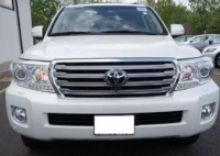 2013 TOYOTA LAND CRUISER GXR WHITE