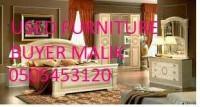 used furniture&electronice buyer call Malik 0505453120