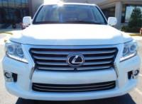 LEXUS LX 570 2014 – WHITE SUV