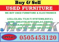 used all Furniture&Electronice buyer Call Malik 0504718116