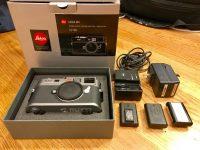 Leica M M9 18.0MP Digital Camera – Steel Gray (Body Only)