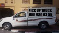 I HAVE PICK UP TRUCK RENT IKEA DUBAI 055 980 6355