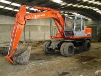 Hitachi excavators EX100WD