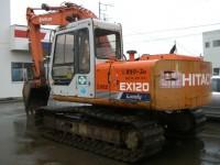 Hitachi excavators EX120