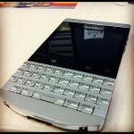 BlackBerry Porsche Design P9981 With arabic Keypad, And Special VIP PIN