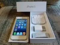 Apple iPhone 5 64GB (Black and White) unlocked 450usd