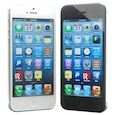 Factory Apple iPhone 5 32GB White & Black Unlocked