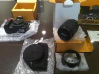 Nikon D7000 Digital SLR Camera with Nikon AF-S DX 18-200mm VR lens