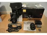 Nikon D90 Digital Camera with 18-135mm Lens…$520