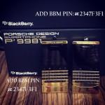 For Sale: Blackberry Porsche / Blackberry Q10 24k Gold (Arabic+English Keyboard and VIP PIN)