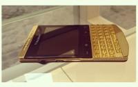 BlackBerry Porsche P'9981 Gold & Apple iPhone 5S GOLD (Add Pin 29241743)