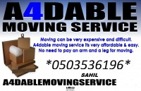 PROFESIONAL MOVER & PACKER 0503536196 SAHIL