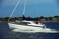 Power Sailboat