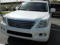 FOR SALE 2011 LEXUS LX 570 (Gulf   specs)