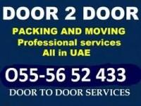 DOOR TO DOOR MOVERS PACKERS SHIFTERS UAE 055 5652 433 MR SAHIL