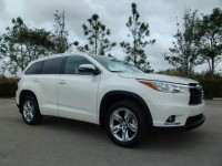 Full Option 2015 Toyota Highlander Limited