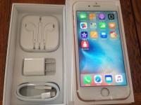 Apple iphone 6s plus 64GB/ 128GB rose gold,  Whatsapp : +2347067289044